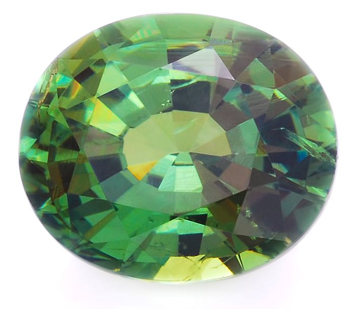 From a historical perspective, Demantoid is clearly the most important variety of the Andradite species. Demantoids from the Ural mountains of Russia were discovered in 1868. Possessing an unusual green color and a dispersion even greater than diamond, demantoid quickly became a treasured and expensive gemstone and was used by the famous Russian jeweler Faberge to create jewelry.