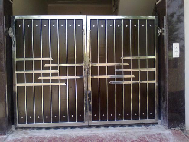 17 of 2017 39 s best steel gate design ideas on pinterest for Main gate door design