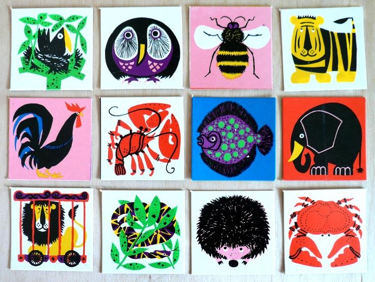 Kenneth Townsend memory game (1931-99) British artist and freelance designer