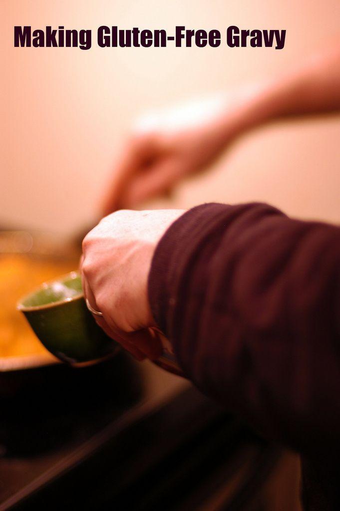 making gluten-free gravy... essential!  #TDAYROUNDUP entry via @Katie Merrick