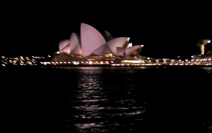 Sydney by moonlight