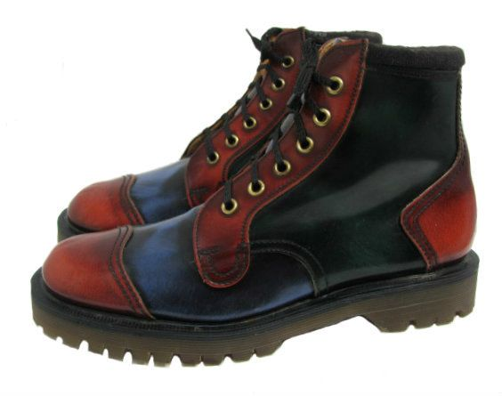 john fluevog mens shoes these are great looking shoes with english quality. They look great with pair of faded jeans. They provide solid traction with good overall foot protection. Perfect for urban Zombie slaying.