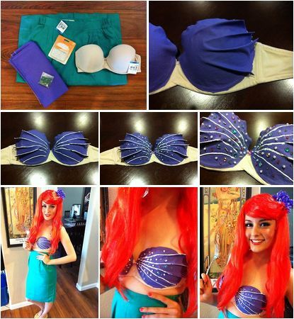 Little Mermaid Halloween Costume For Adults