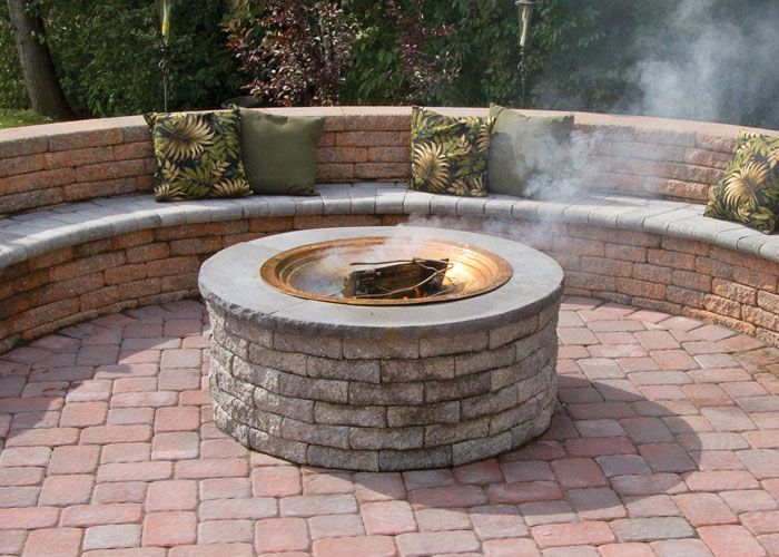 Nice Like This Fire Pit Seating Awesome Ideas