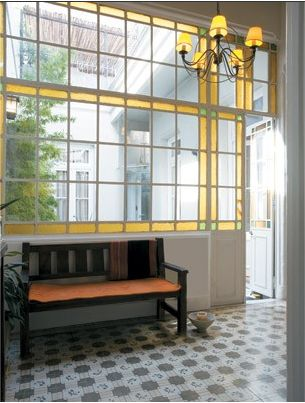 puerta ventana de vitreaux