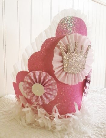 Couture Pink Sparkle Birthday Crown