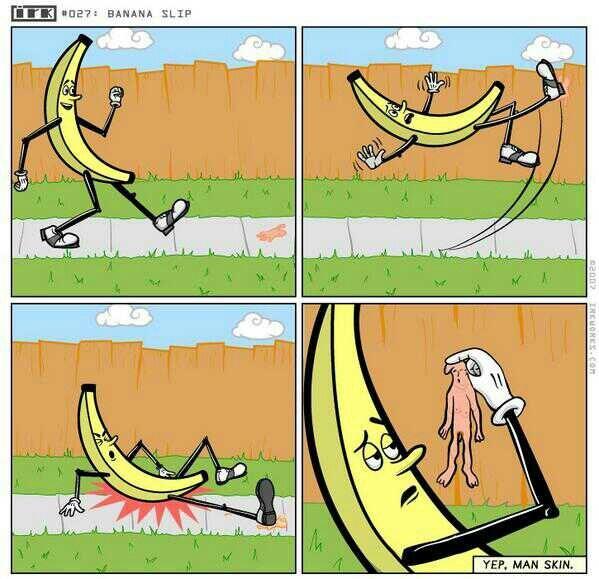 Bananenschil