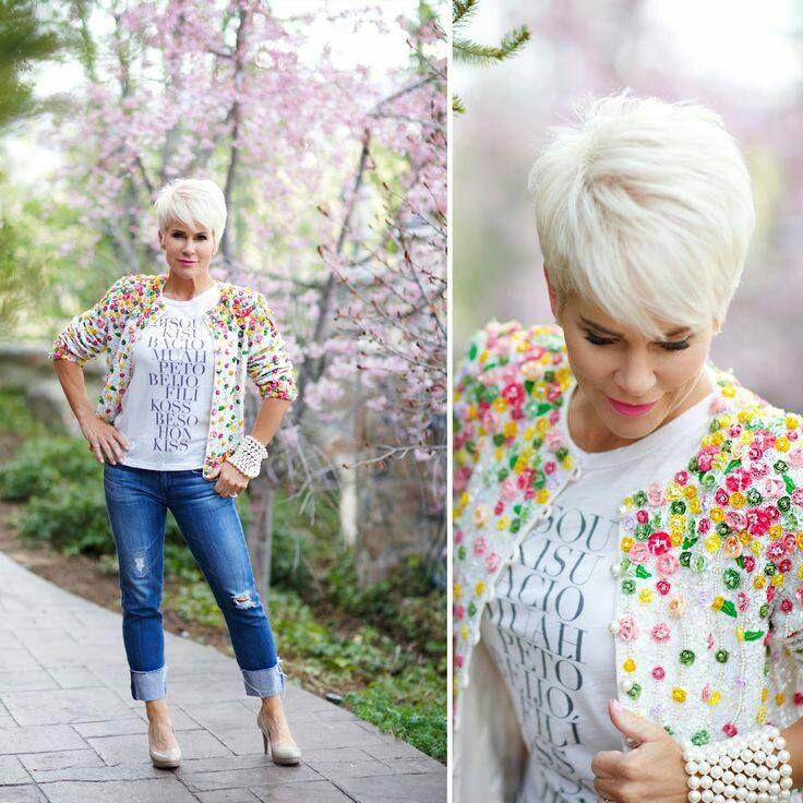 Herbsttief? Weg mit dem Herbstblues und strahle mit einer dieser 10 fröhlichen blonden Kurzhaarfrisuren! - Neue Frisur