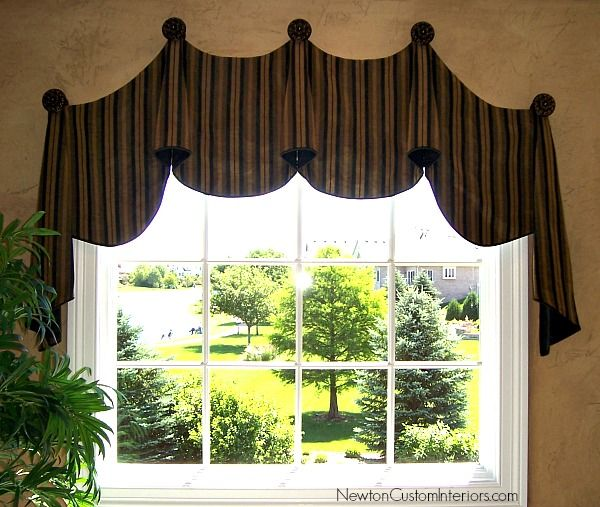 Eyebrow window treatments from newtoncustominteriors com - 1000 Ideas About Arched Window Treatments On Pinterest