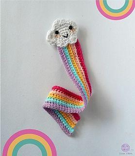 Ravelry: Rainbow Bookmark pattern by Maro Kakali
