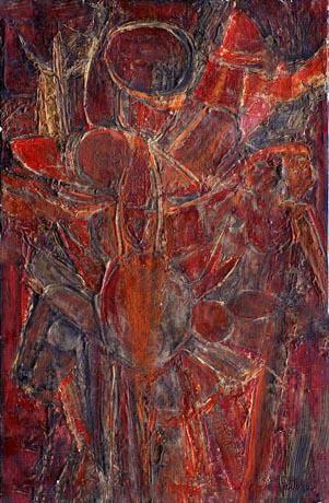 COMPOSITION 58 - Roger-Edgar GILLET - Galerie Guigon