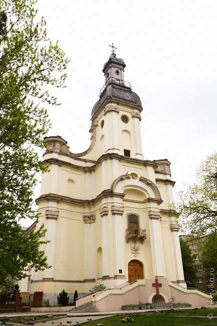 Kościół Sakramentek.Lwów