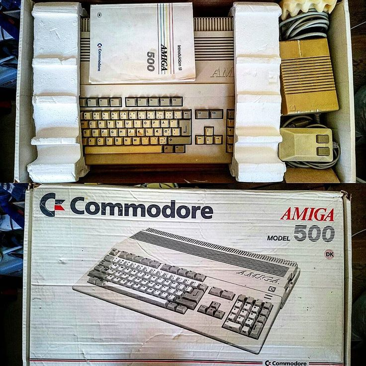 Shared by crazycatman.eu #amiga500 #microhobbit (o) http://ift.tt/2oAFXfH with it's #original box User Manual mouse and PSU; ready for action! Not modified with with flash cards or any other new tricks; just an old school 512k RAM expansion.
