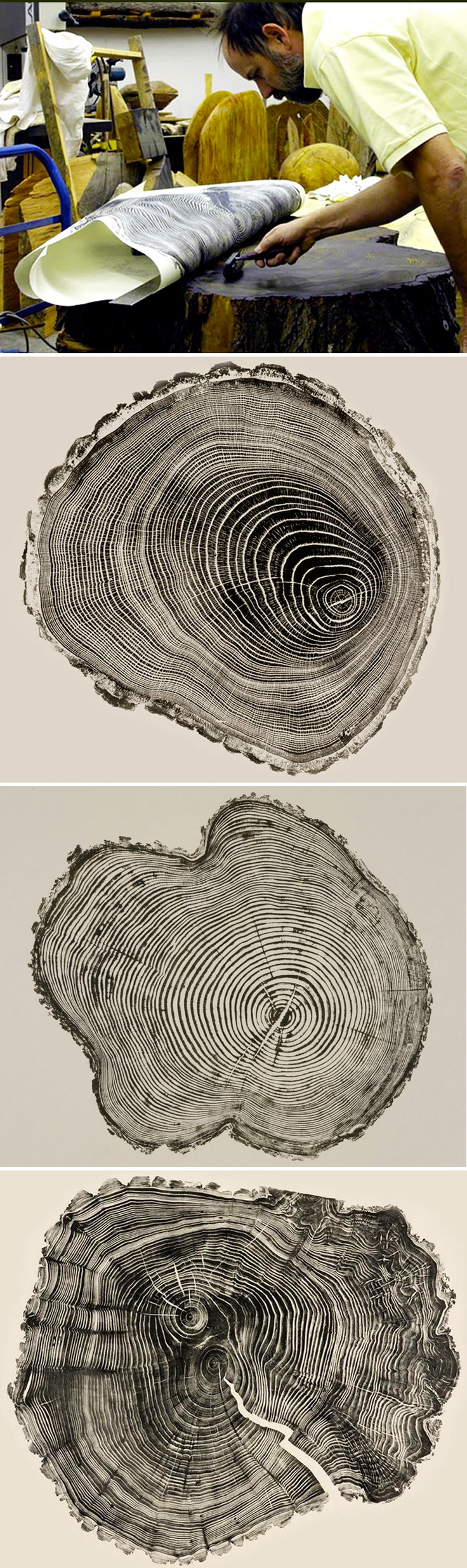 Bryan Nash Gill : brilliant new meaning to woodcuts!