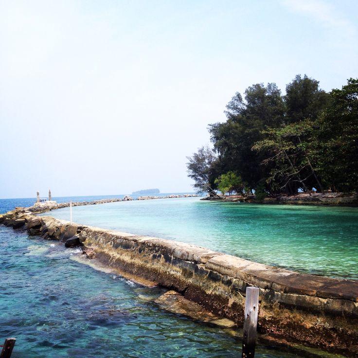 Pulau Bulat Kepulauan Seribu #indonesia