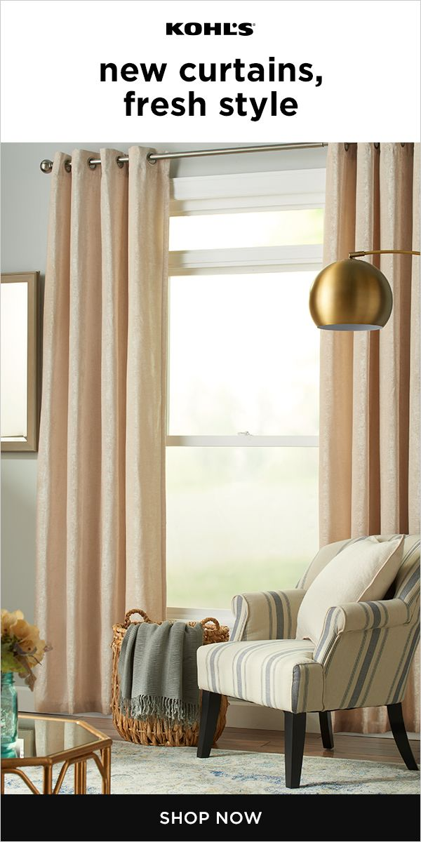 New Window Treatments Or Curtains Are A Quick And Easy Way To Update