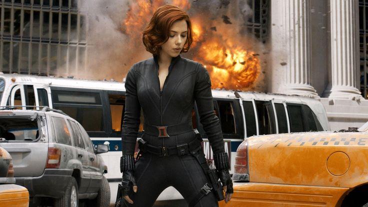 Scarlett Johansson Avengers HD desktop wallpaper High Definition