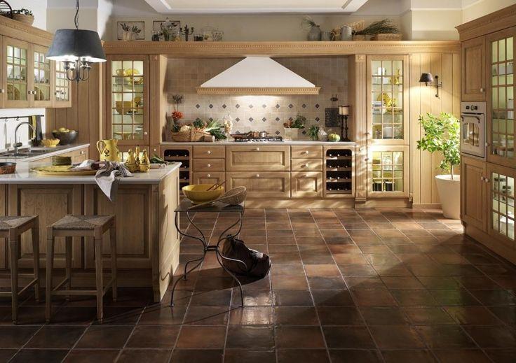 Oltre 1000 idee su cucina con pavimento in piastrelle su - Rivestimenti murali cucina ...