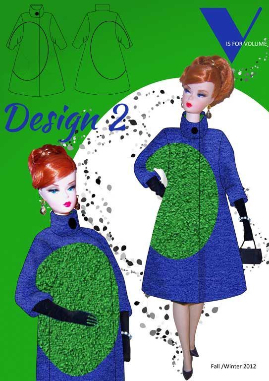 Balenciaga Inspired Winter Coat Challenge Vote now for your favourite at www.duellingdesigns.com