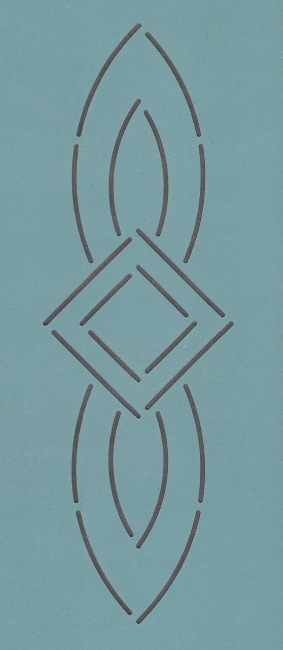 """Zion 96 2.5"""" - The Stencil Company"""