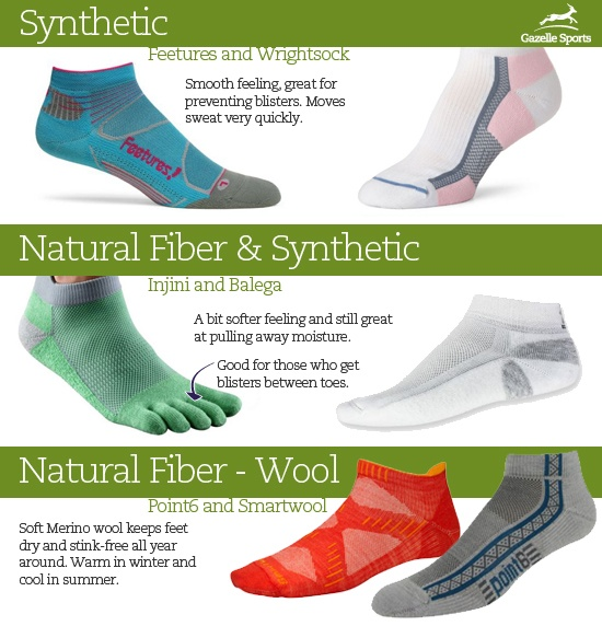 Learn more about why to ditch cotton socks and how to choose a sweat-wicking