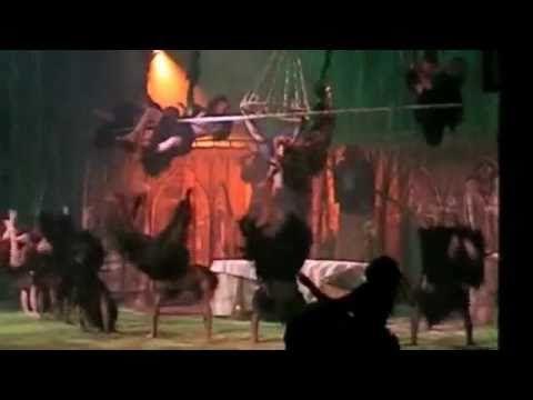 ▶ Tarzan: The Broadway Musical - Trashin' The Camp LIVE (DUTCH) - YouTube