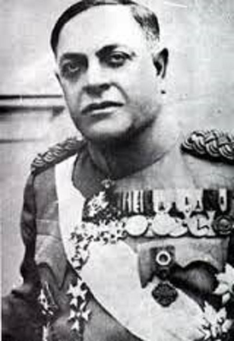 Puppet States of Nazi Germany - Milan Nedić ( Belgrade, Federal People's Republic of Yugoslavia) was a Serbian general and politician. He was the chief of the general staff of the Yugoslav Army, minister of war in the Royal Yugoslav Government and the prime minister of a Nazi-backed Serbian puppet government during World War II.  Born2 September 1878 Grocka, Principality of Serbia Died4 February 1946 (aged 67), Belgrade