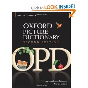 16 best great ebooks to learn english images on pinterest learn oxford picture dictionary english spanish bilingual dictionary for spanish speaking teenage and adult students fandeluxe Choice Image