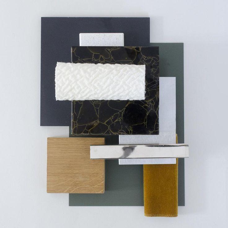 Material moodboard by Studio David Thulstrup - Oak by Dinesen