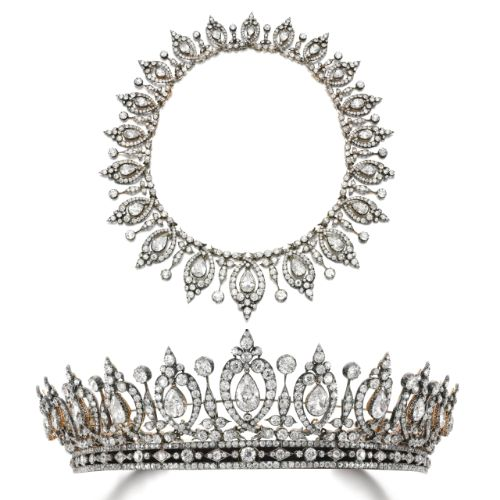 Diamond tiara/necklace, last quarter of the 19th century | Lot | Sotheby's