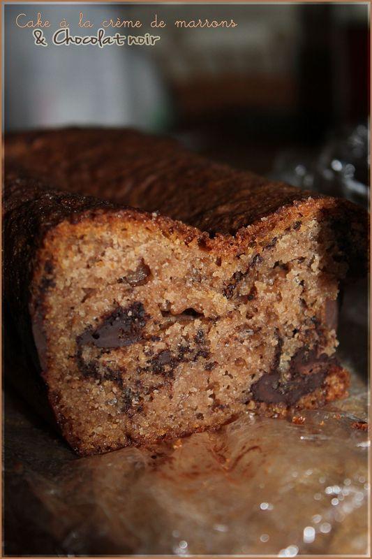 Cake à la crème de marrons