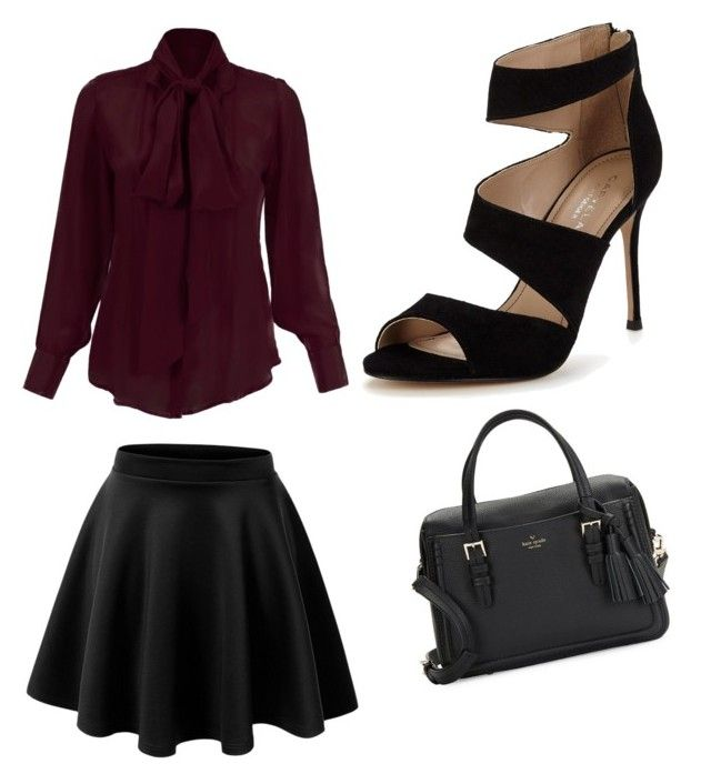"""""""Miss first date"""" by flobetty on Polyvore featuring Mode, Carvela und Kate Spade"""