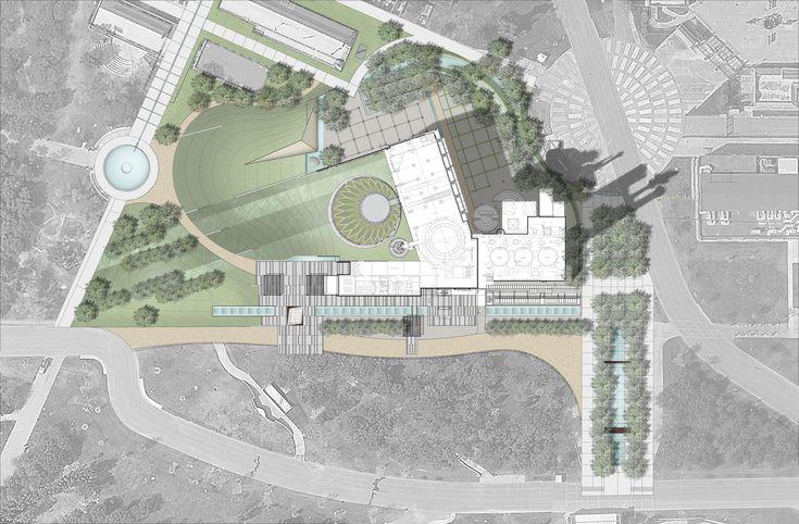 Galería de Arquitectura y Paisaje: las cubiertas verdes del Museo del Acero…