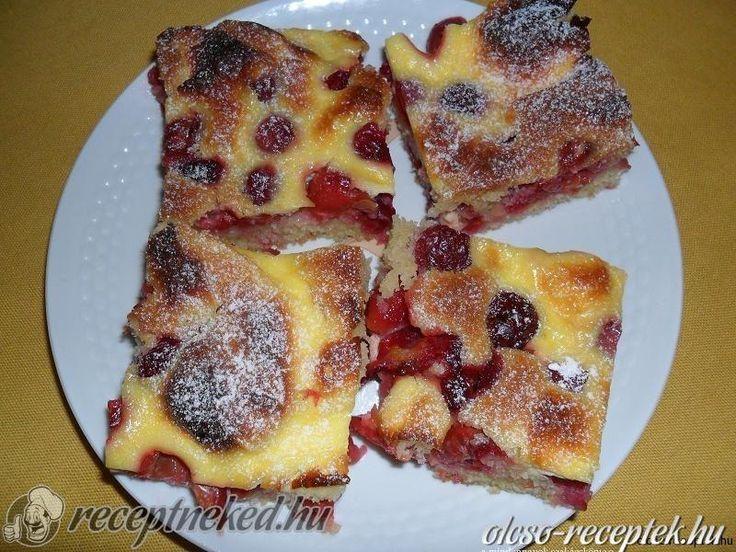 A legjobb Tejfölös-meggyes süti recept fotóval egyenesen a Receptneked.hu gyűjteményéből. Küldte: Salamon Csilla