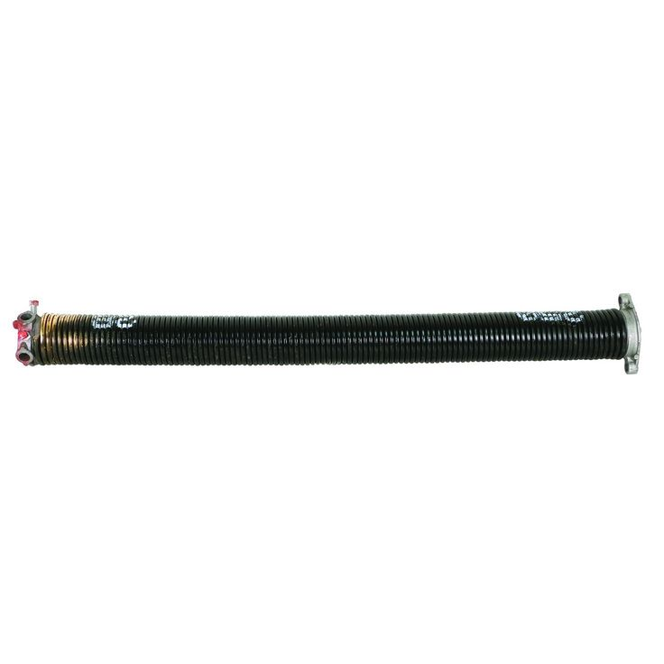 Prime-Line Products GD 12321 Garage Door Torsion Spring, .250 in. x 2 in. x 28 in., Gold, Right Hand Wind