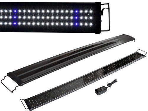 TMS 48' Aquarium LED Light 2 Modes Bright Lunar Freshwater Tropical Fish Tank 120cm...
