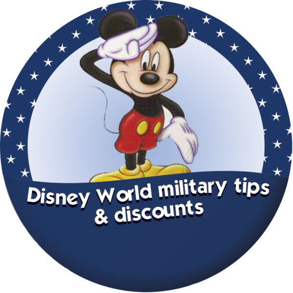 Disney World tips and discounts for military personnel from @Shannon, WDW Prep School