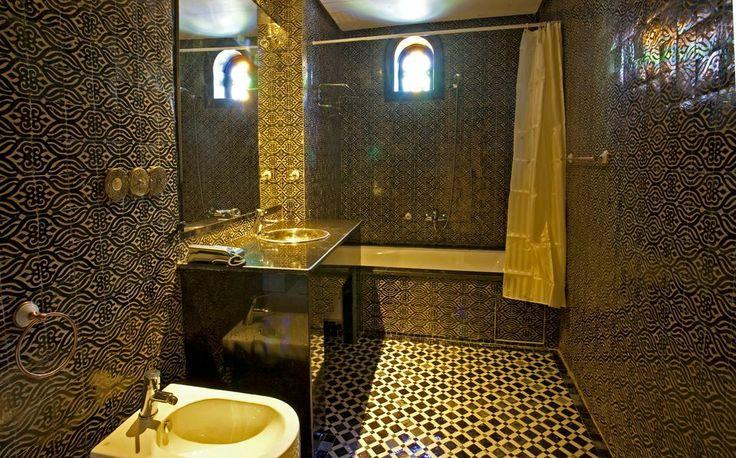 Modern moroccan bathroom bathrooms pinterest - Moroccon bathroom ...