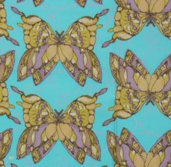 Latest Designer Fabric 'Freedom in Turquoise' by Tina Givens (USA). Designer Fabrics, curtains, blinds, cushions online