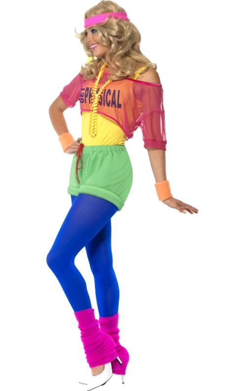 80s lets get physical costume - 80s Dancer Halloween Costume