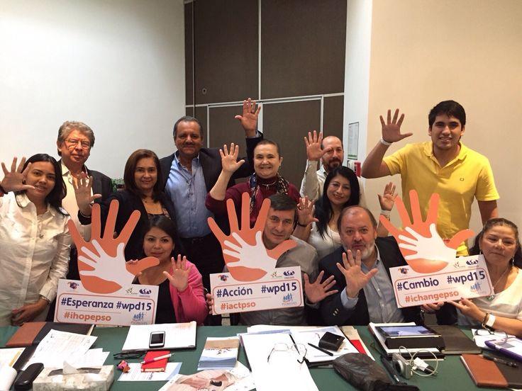 Alapso- 1a. reunión. México- Octubre /15 Con mucho esfuerzo y empeño para obtener grandes beneficios para los pacientes con psoriasis.
