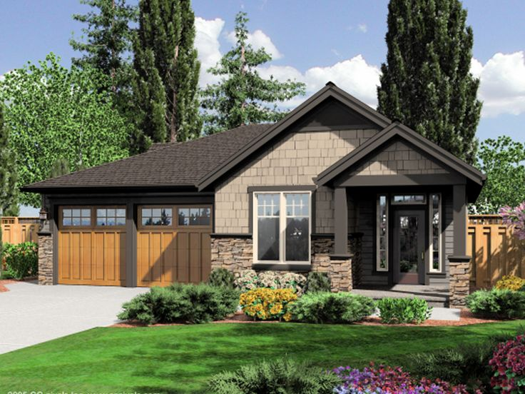 Rocky Peak Rustic Craftsman Home Plan 043D-0036 | House Plans and More