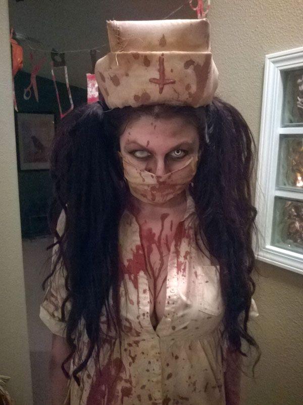 Scary Nurse Halloween Costume!