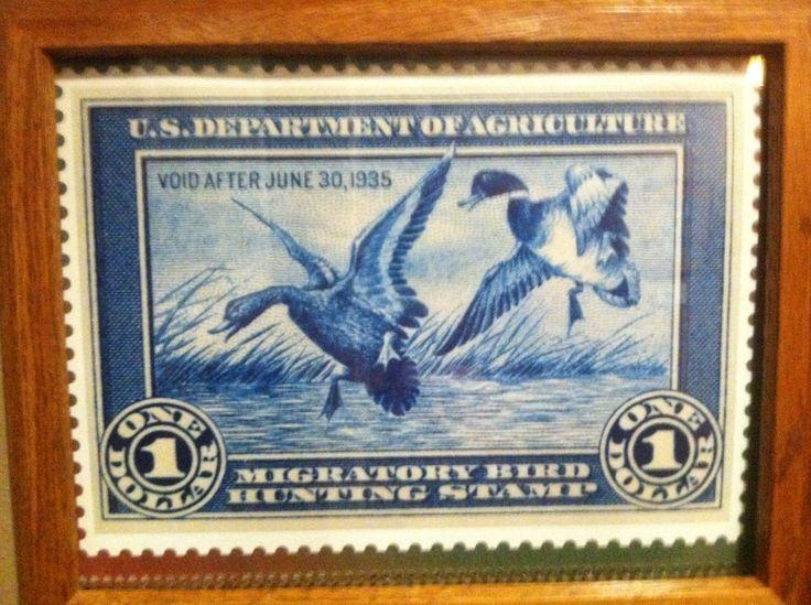 1935 Hunting Stamp-replica