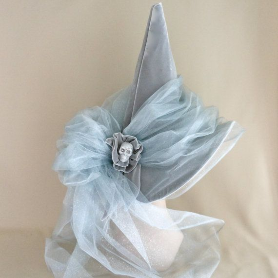 Grey Lady Witch Hat