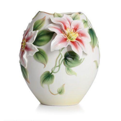 Clematis Vase | Porcelain | Franz Collection