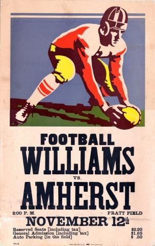 photos | football-poster-1938-williams | Amherst College