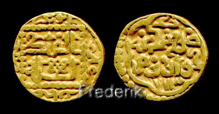 Khwarizm Numismatics Sufid Gold dinar 773 AH mint Khwarizm RARE-Золотой динар чекан ХОРЕЗМа 773 ГХ.
