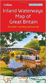 Collins Nicholson Inland Waterways Map of Great Britain (Nicholson Waterways Map): Amazon.co.uk: Collins Maps: 9780008146535: Books