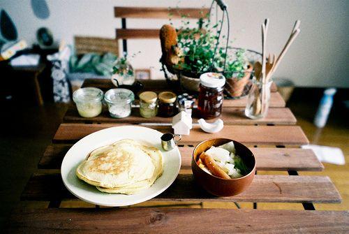 今日の朝ごはん / today's breakfast